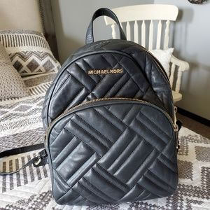 Beautiful, quilted Michael Kors backpack